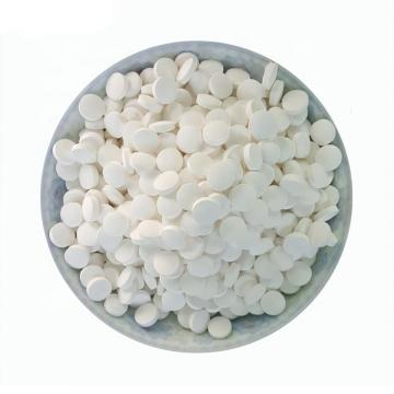 Swimming Pool Chemicals 50kg Plastic Drum Packing 90% TCCA 200g Tablet